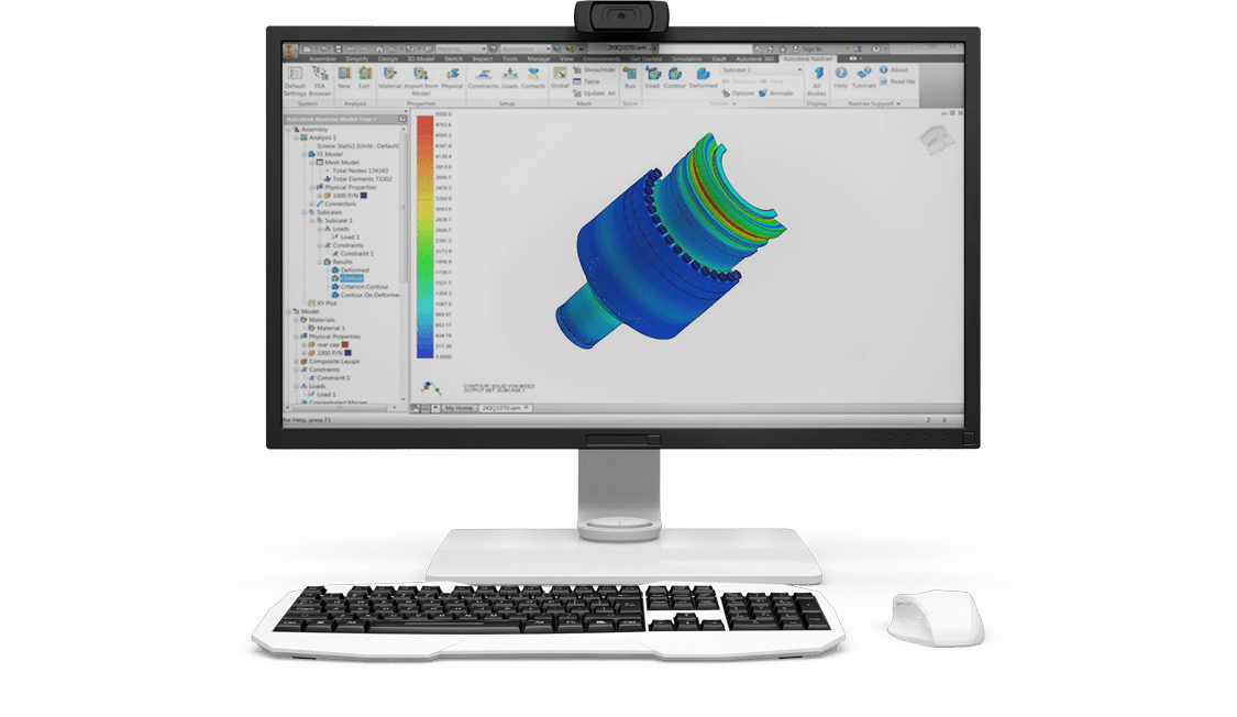 Nastran FEA Analysis is part of our Perth Engineering Services