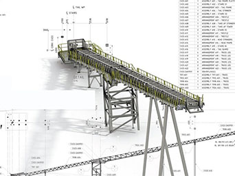 Conveyor Design and drafting service