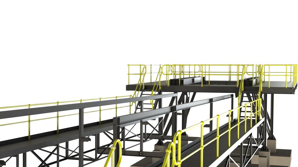Conveyor Splicing Table